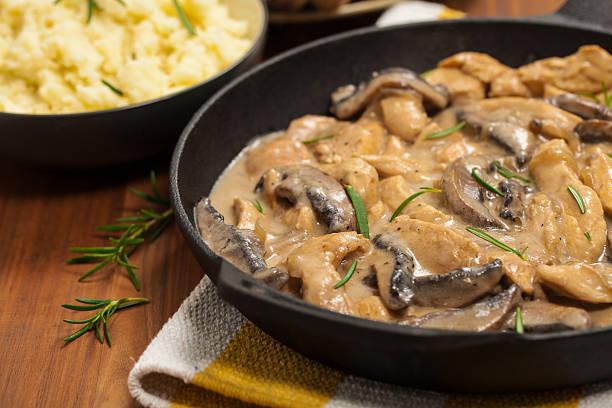 치킨, 버섯 - 식용 버섯 뉴스 사진 이미지