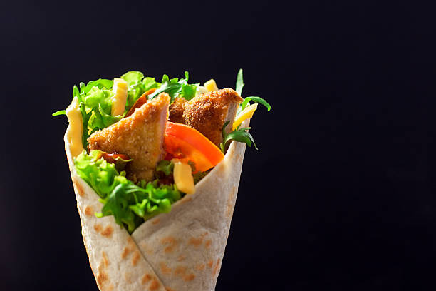 Chicken Wrap Sandwich – Foto