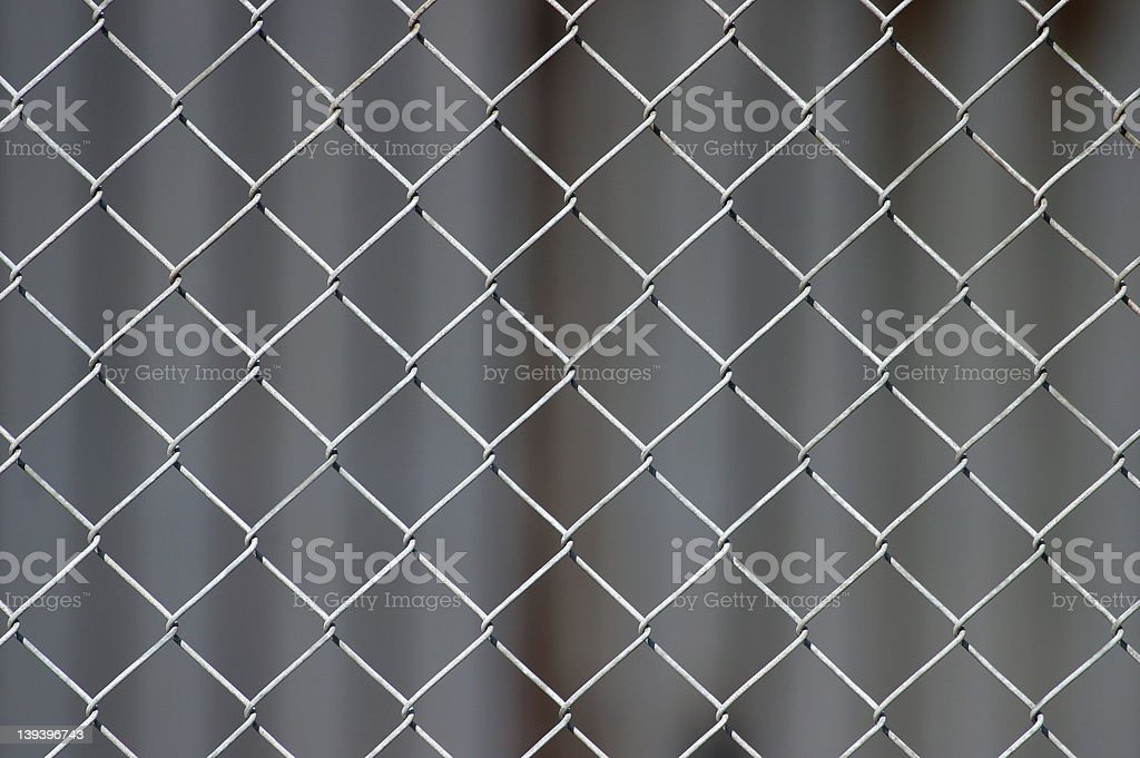 Chicken-Wire Background (selective focus) royalty-free stock photo