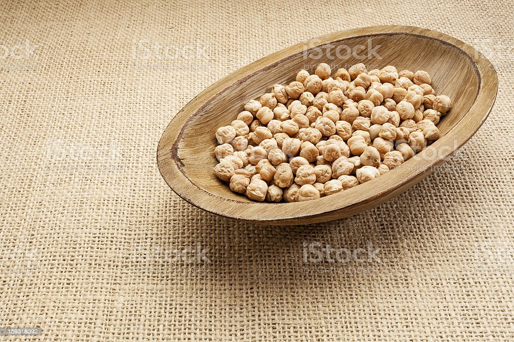 chickpea beans royalty-free stock photo