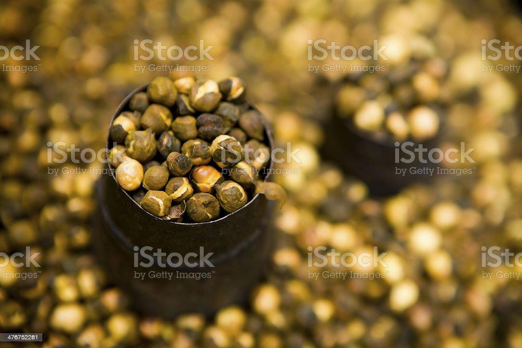 Chickpea Garbanzo Bean Healthy Eating Organic royalty-free stock photo