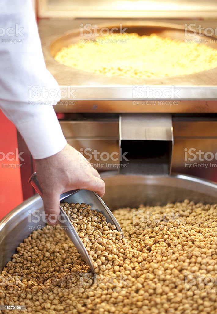 Chickpea royalty-free stock photo