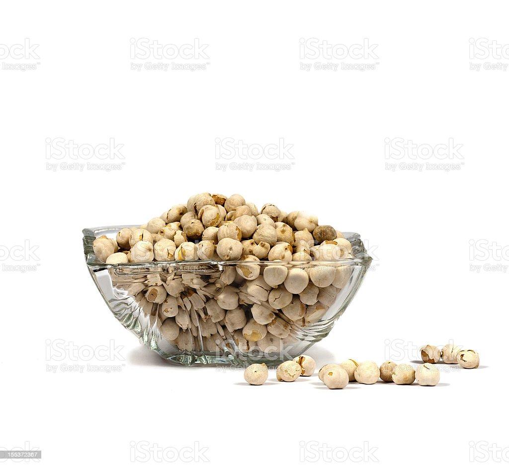 Chick-peas royalty-free stock photo