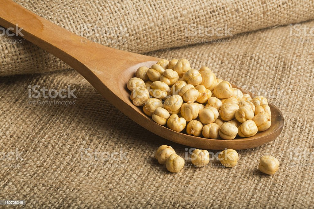 Chickpeas royalty-free stock photo