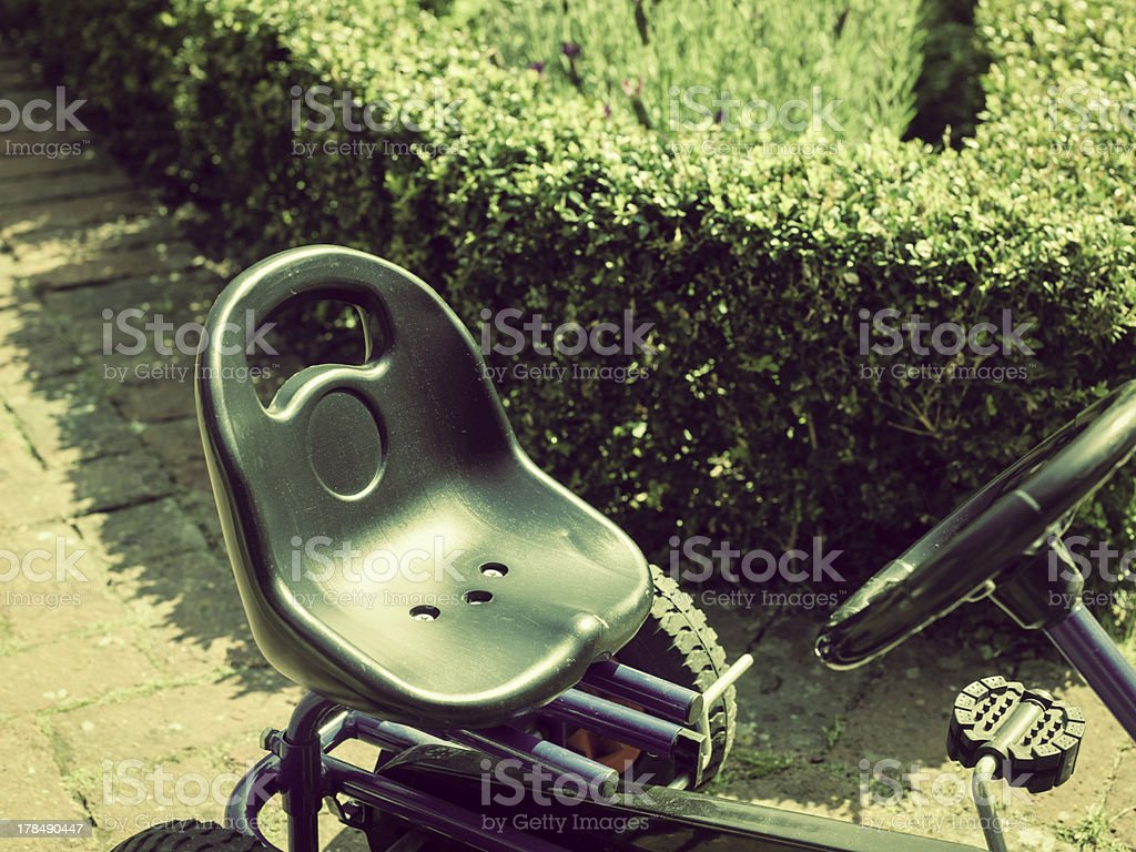 Chids go Kart royalty-free stock photo