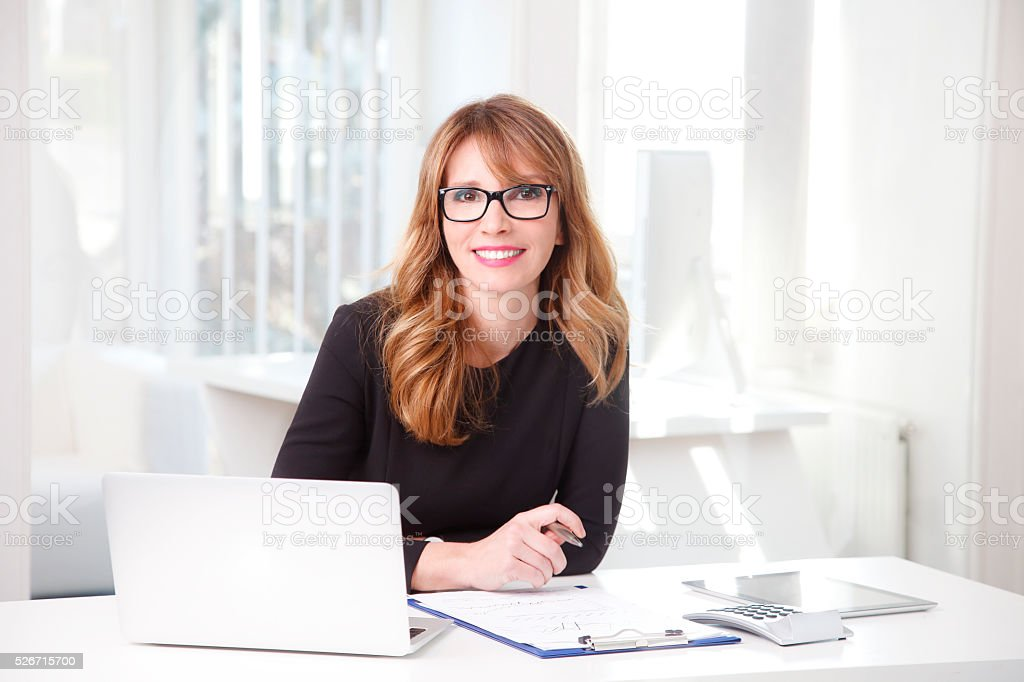 Chief financial officer stock photo