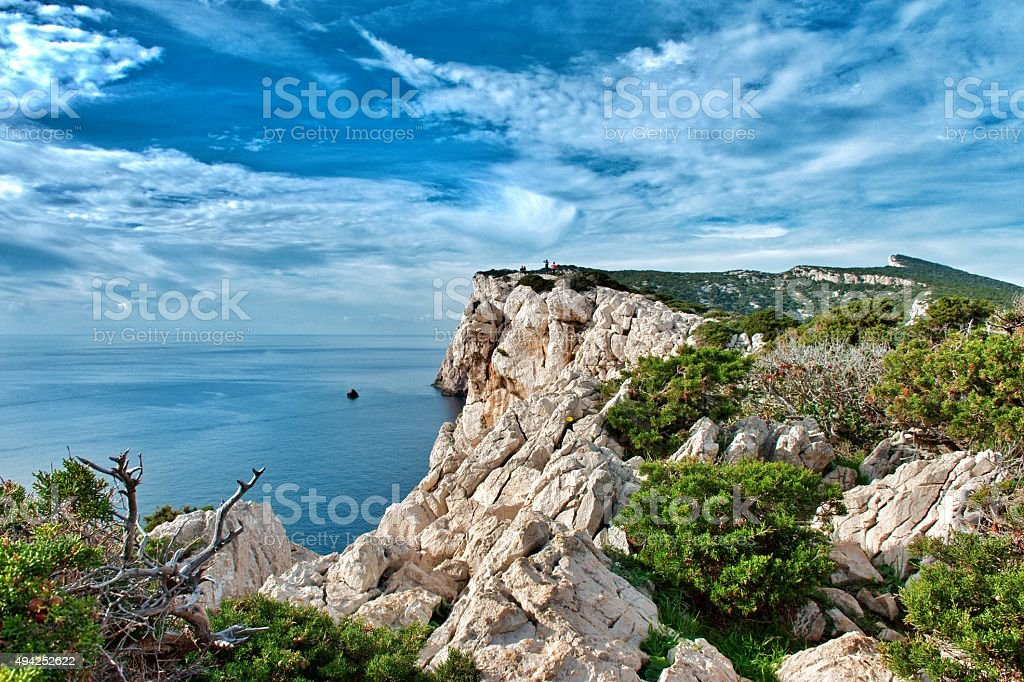 Capo Caccia stock photo