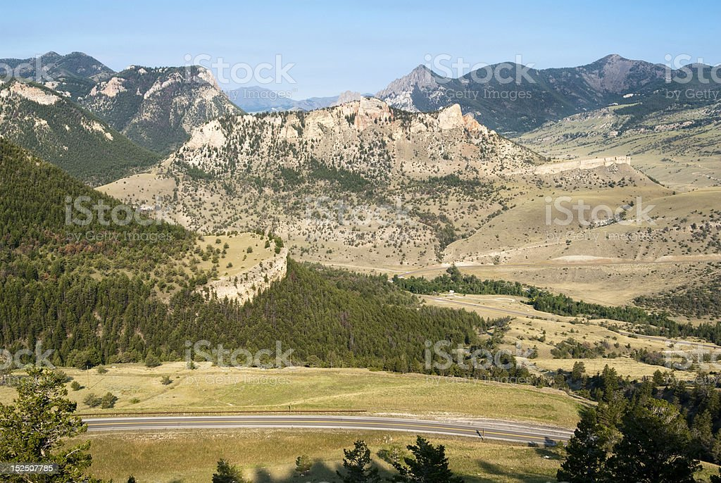 Chief Joseph Highway stock photo