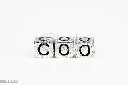 1197953545istockphoto Chief Operating Officer COO concept with cubic metal letters 1189196628