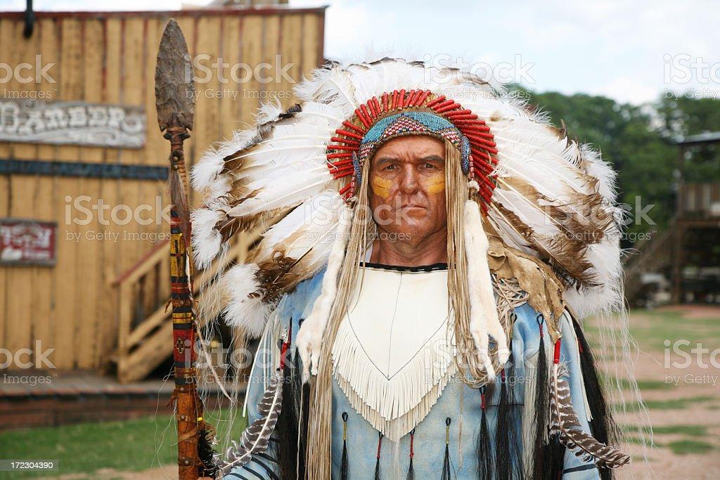 Chief stock photo