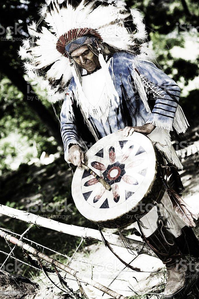 Chief royalty-free stock photo