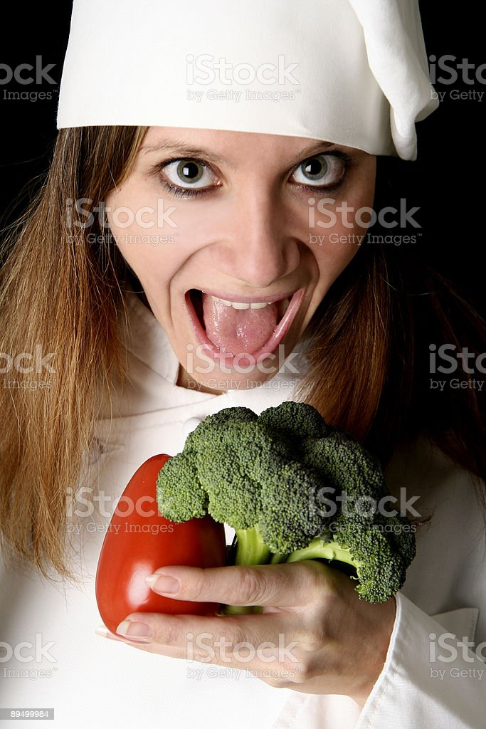 Chef royalty free stockfoto