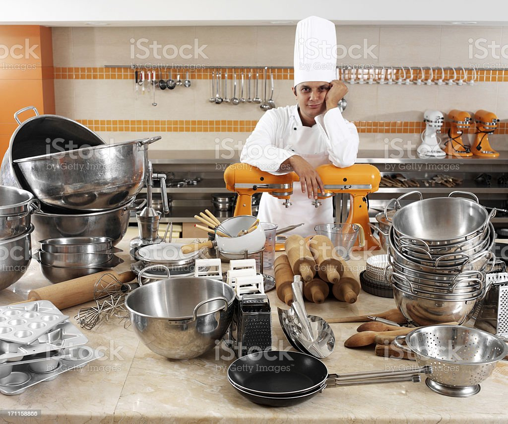 Chef Portrait royalty-free stock photo