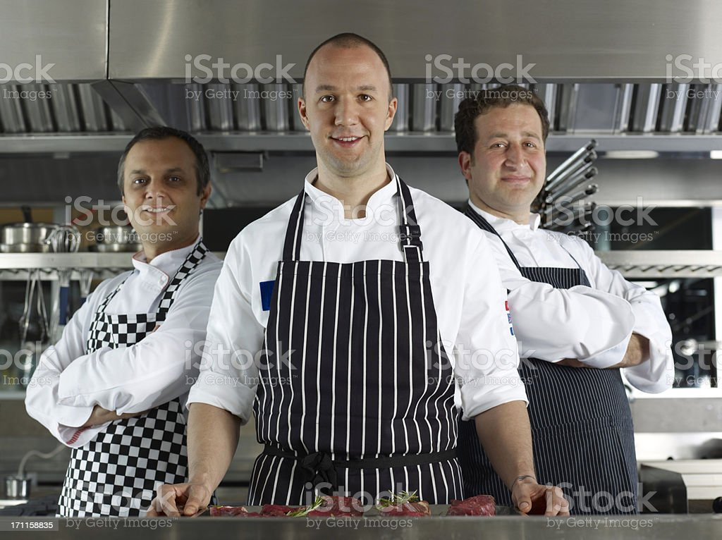 Chef Portraits royalty-free stock photo