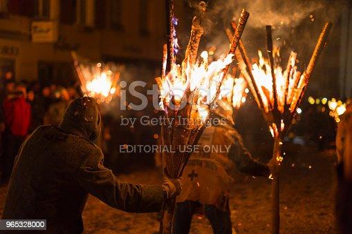 Chienbaese Parade In Liestal - Stockowe zdjęcia i więcej obrazów Ciemny