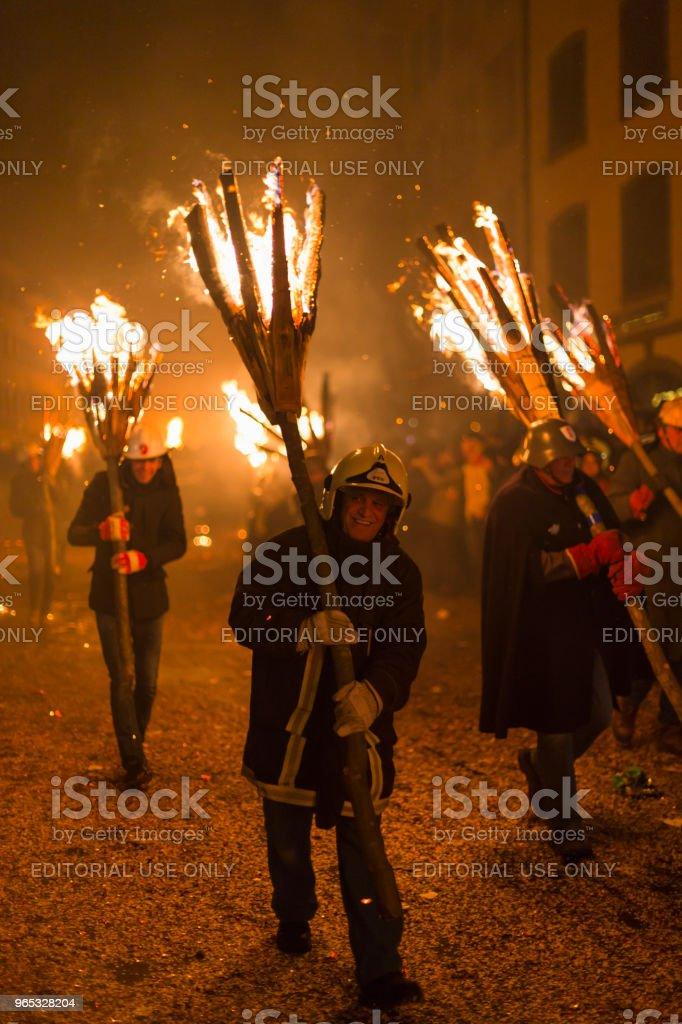 Chienbaese parade in Liestal royalty-free stock photo