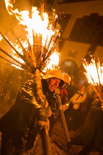 Chienbaese Parade In Liestal - zdjęcia stockowe i więcej obrazów Ciemny