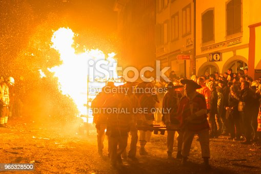 Chienbaese Parade In Liestal Stock Photo & More Pictures of Adult
