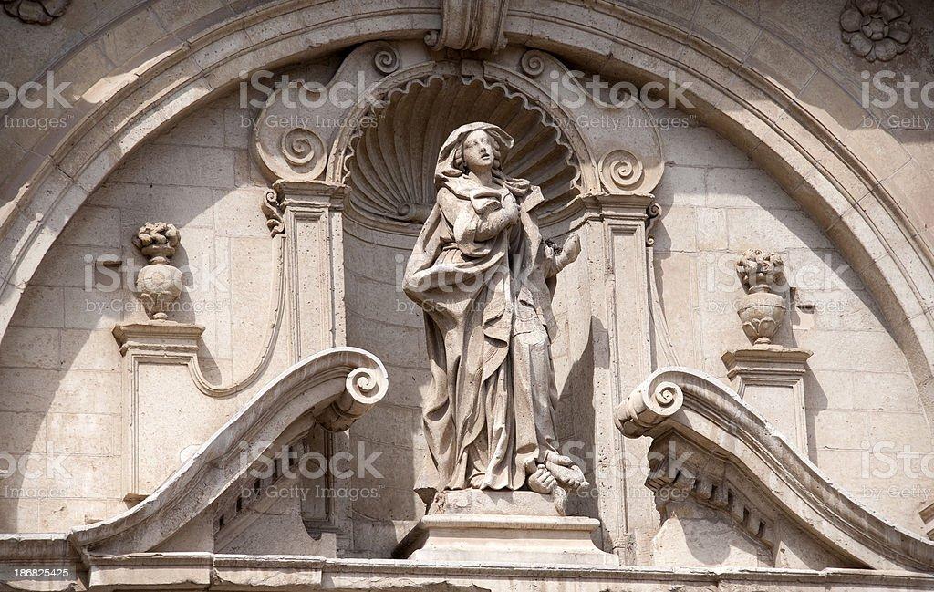 Chiesa Cattolica Santa Irene, Lecce, Apulia royalty-free stock photo