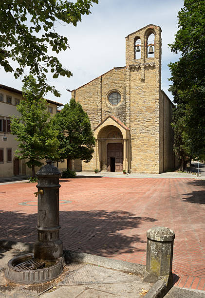 Chiesa di San Domenico, Arezzo Tuscany Italy Chiesa di San Domenico, Arezzo Tuscany Italy arezzo stock pictures, royalty-free photos & images
