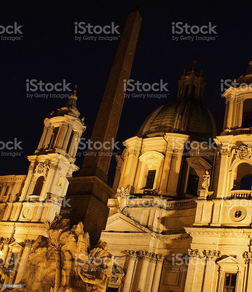 Chiesa di Sant'Agnese royalty-free stock photo