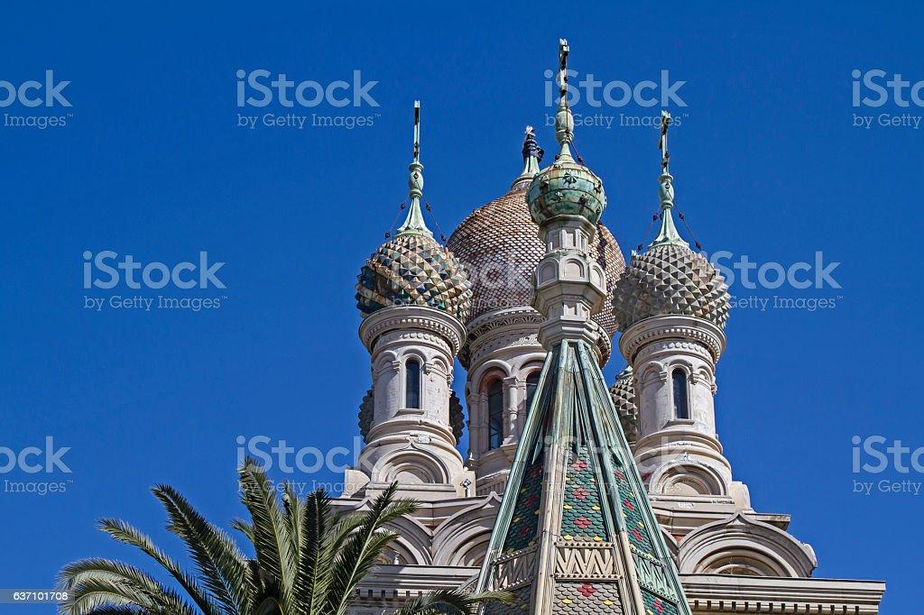 Chiesa San Basilio stock photo