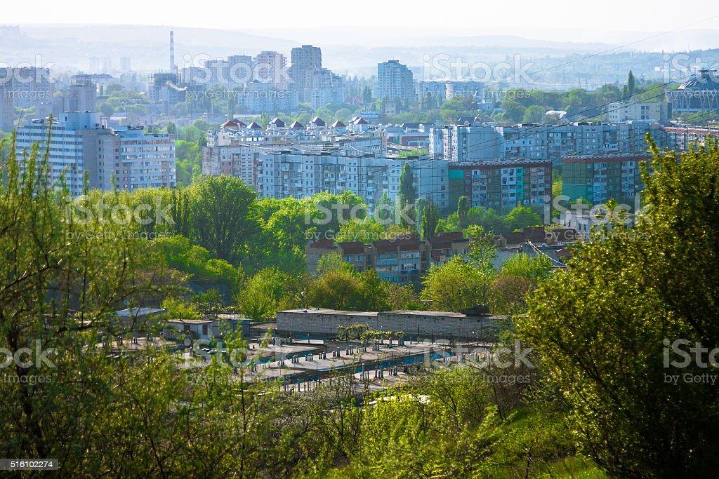 Chișinău Skyline stock photo