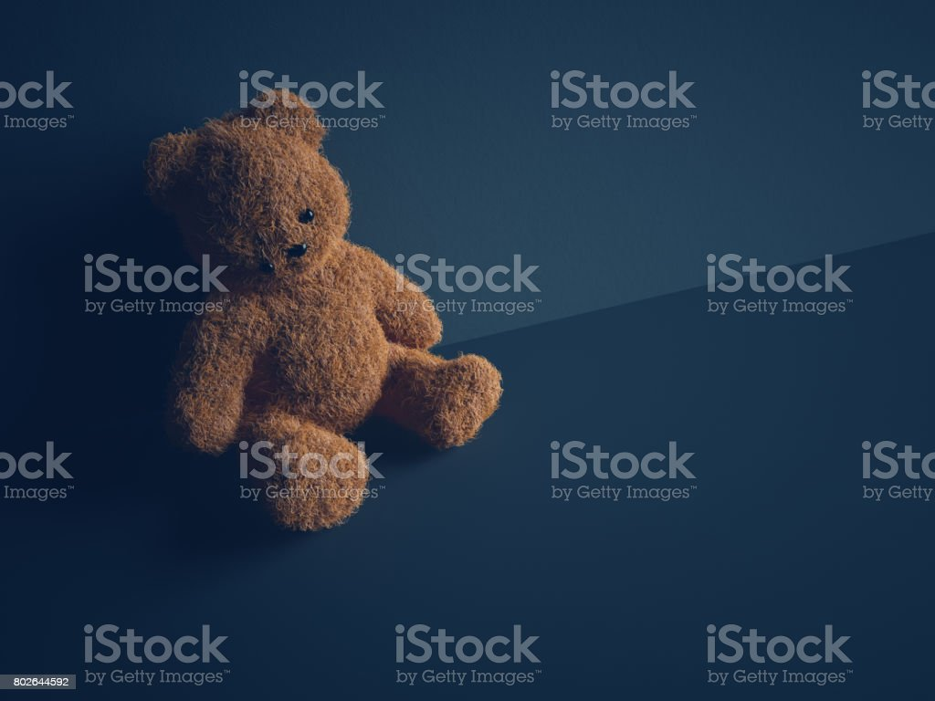 Child abuse concept stock photo