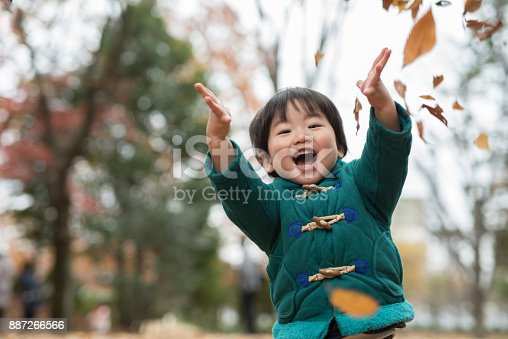 istock child and autumn leaves 887266566