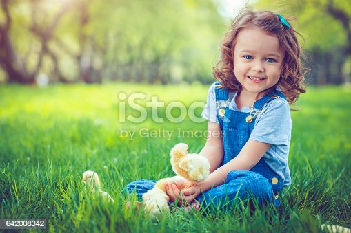 istock Child at Easter 642008342