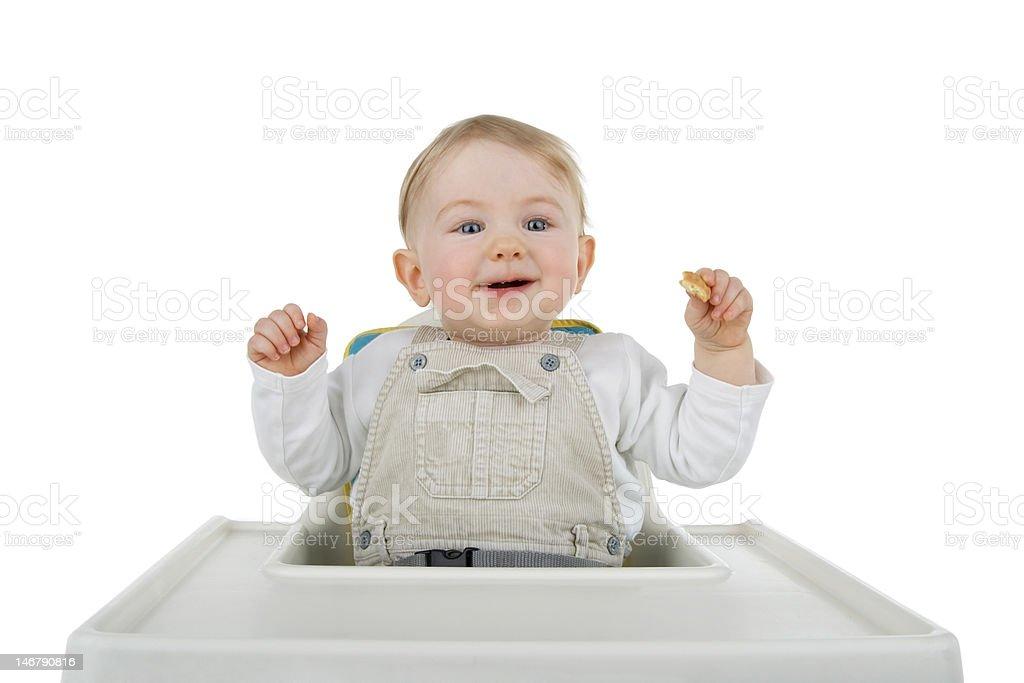Child at food. stock photo