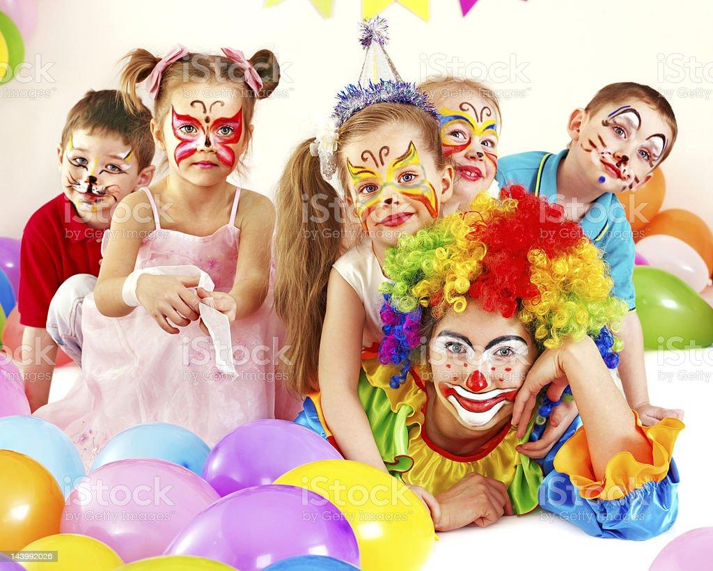 Child birthday party . stock photo