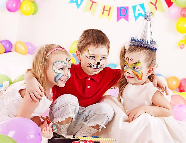 Kind Geburtstag party – Foto