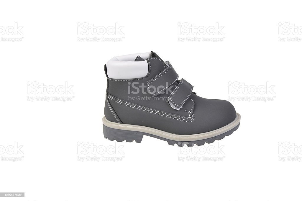 Child Boot royalty-free stock photo