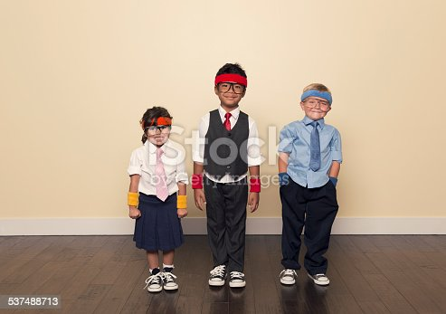 istock Child Business Team Ready for Development 537488713