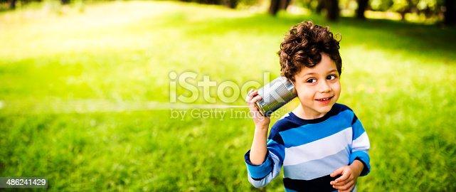 Child communication concept