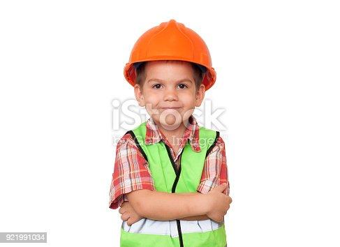 istock child construction worker 921991034