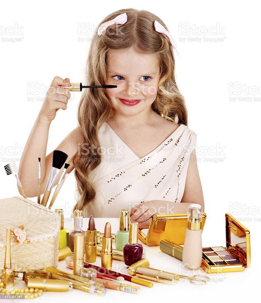 Child cosmetics. royalty-free stock photo