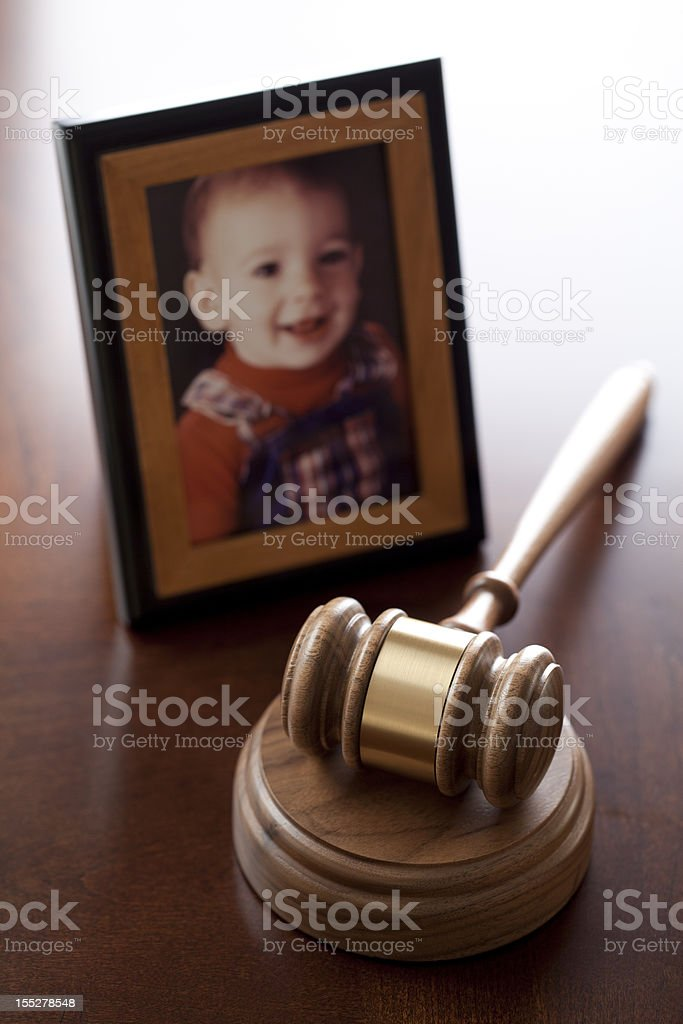 Child Custody royalty-free stock photo