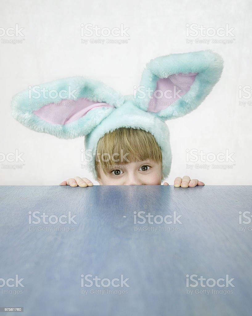 Pâques petit lapin photo libre de droits