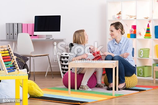 istock Child during play therapy 820616110