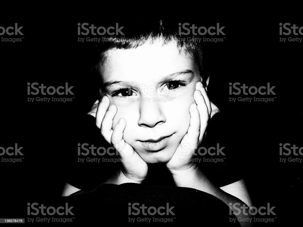 Child Expression 2 royalty-free stock photo