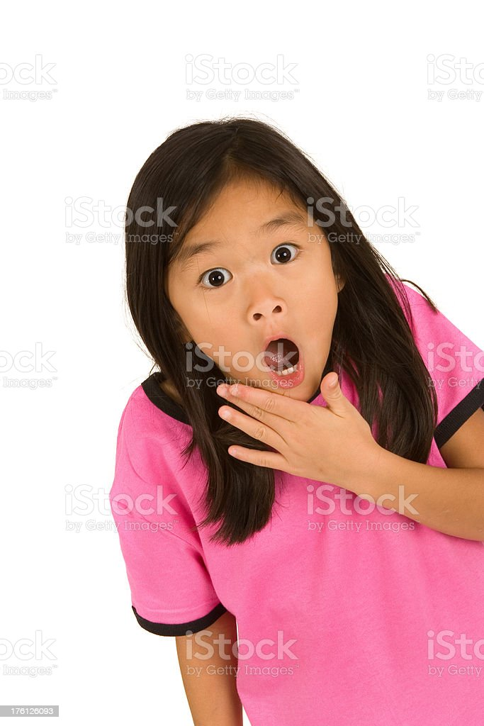 Child Facial Expression series royalty-free stock photo