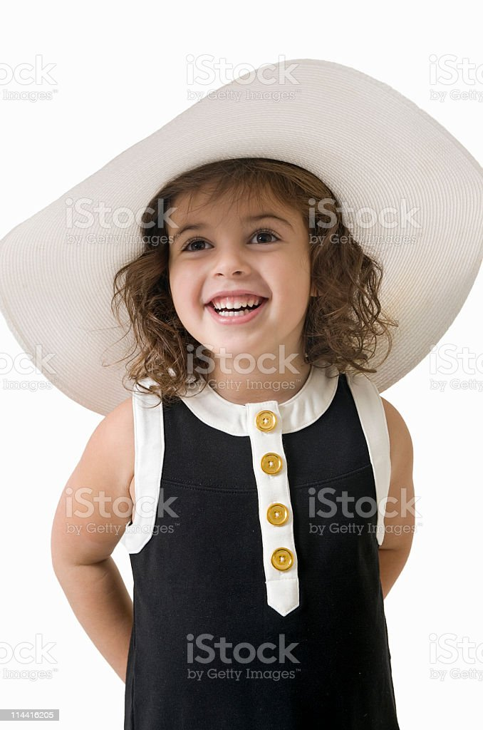 Child Fashion Model stock photo