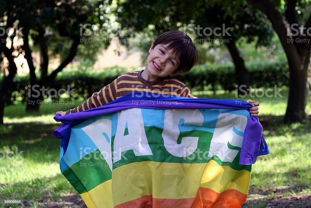 Child for Peace royalty-free stock photo