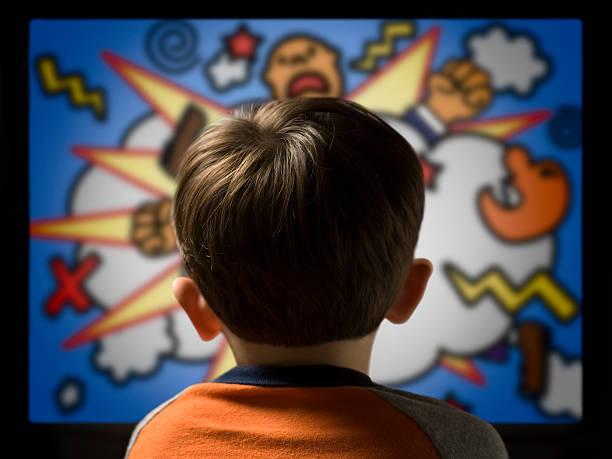 Child from behind watching violent cartoon on television picture id92671576?b=1&k=6&m=92671576&s=612x612&w=0&h=zfxdamtl9npznx  wyeddfestniyuyymup0yimknyzg=