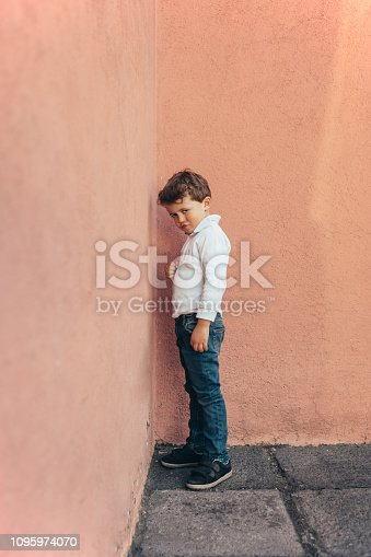 Child having a Time Out