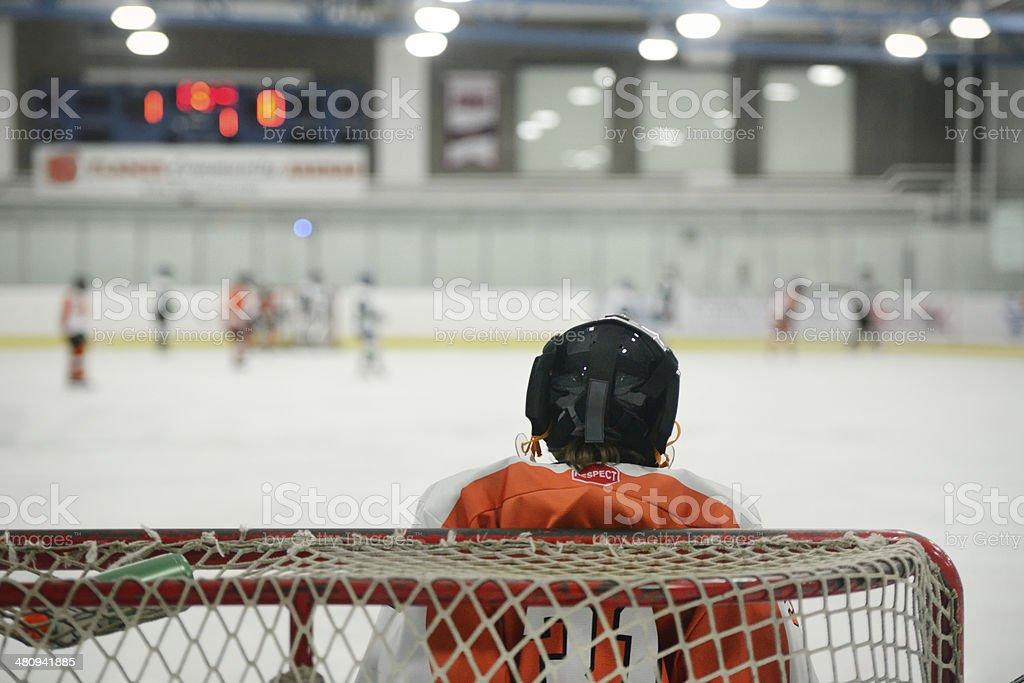 Kind Hockey-Torhüter netto – Foto