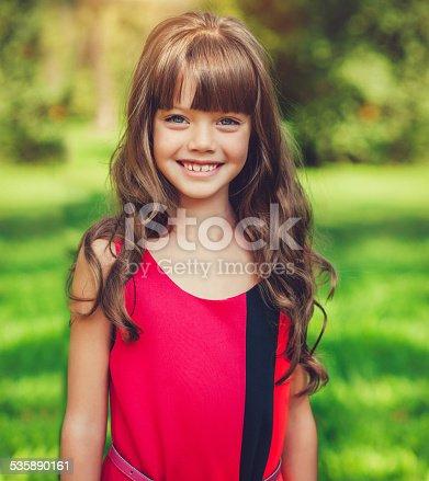 istock Child in park 535890161