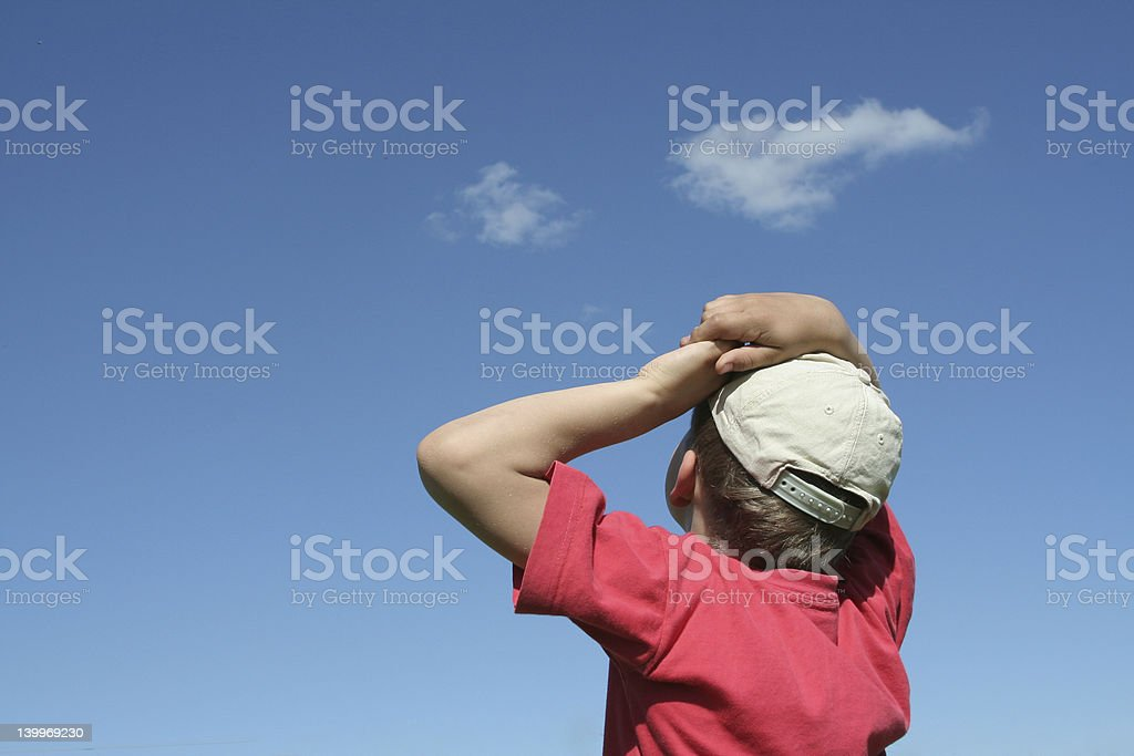 Child in summertime royalty-free stock photo